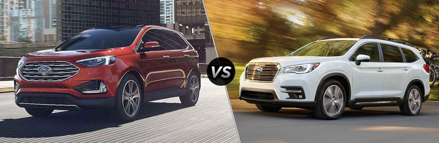 2019 Ford Edge vs 2019 Subaru Ascent