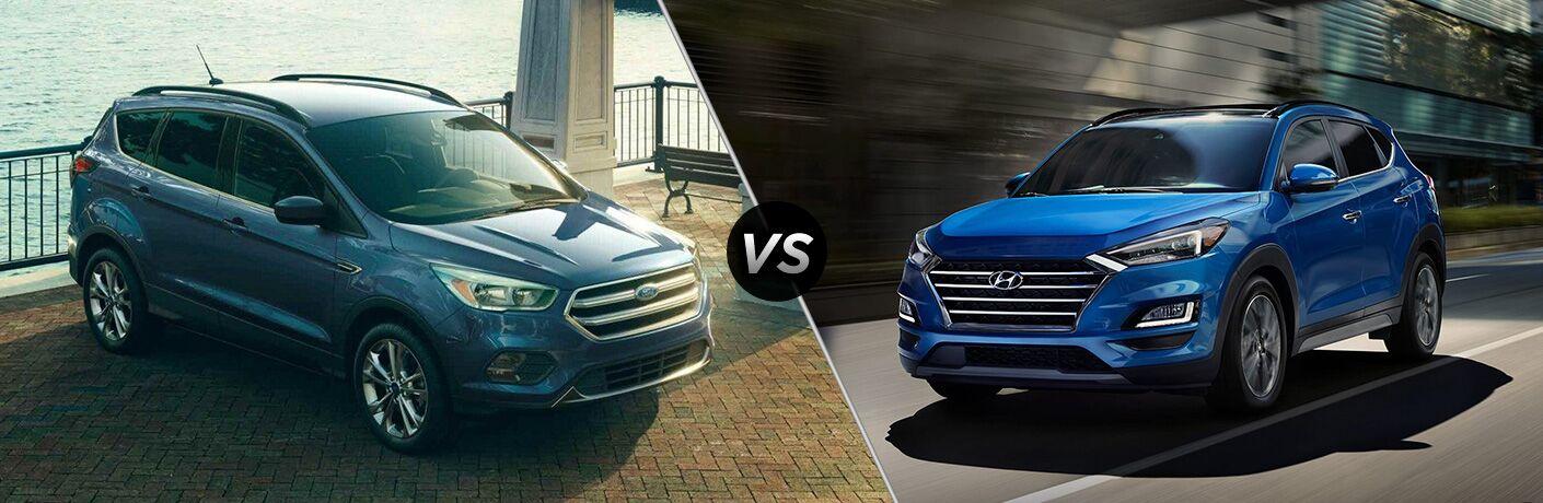 2019 Ford Escape vs 2019 Hyundai Tuscon