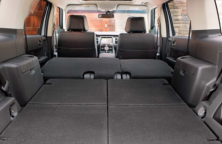 Cargo area of 2019 Ford Flex