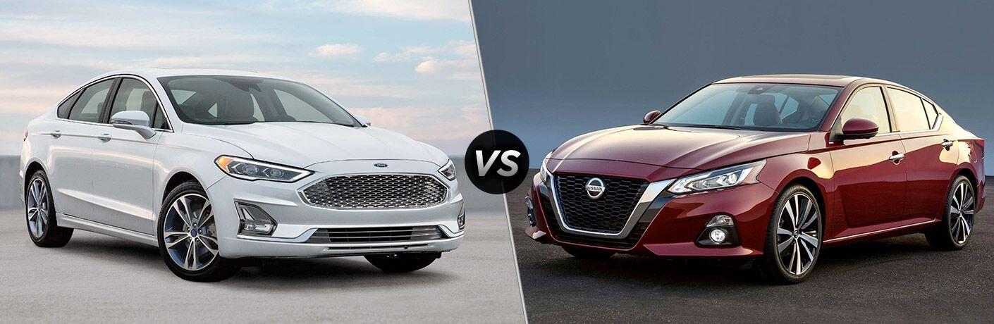 2020 Ford Fusion vs 2020 Nissan Altima