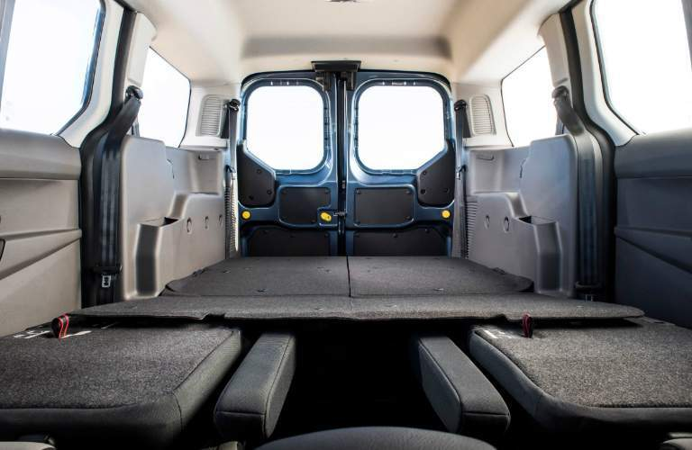 Cargo Area of 2019 Ford Transit Connect Wagon