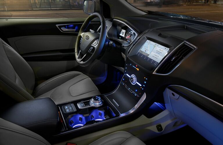 2020 Ford Edge ambient interior lighting