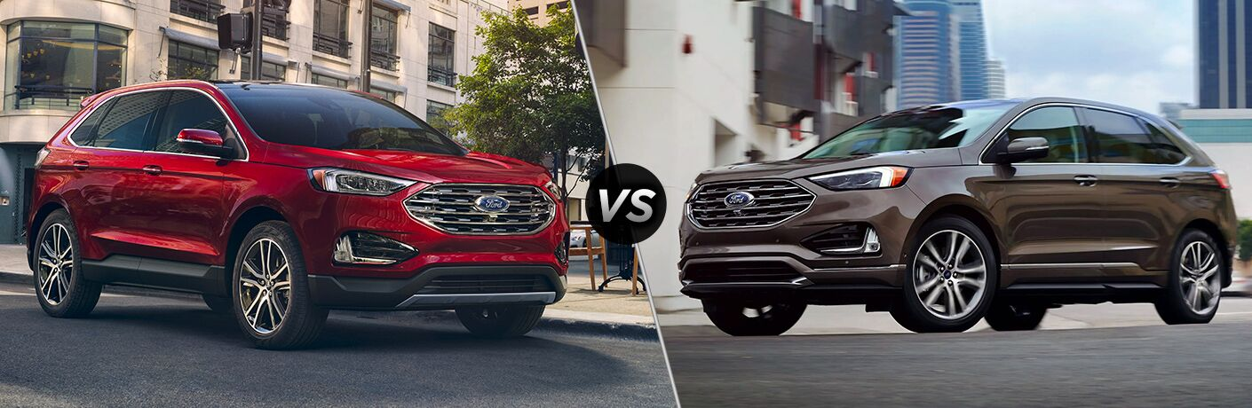 2020 Ford Edge vs 2020 Ford Edge ST