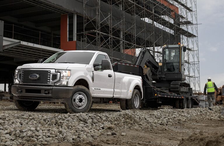 2020 Ford F-350 doing a job