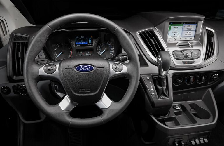 2020 Ford Transit Connect dashboard view