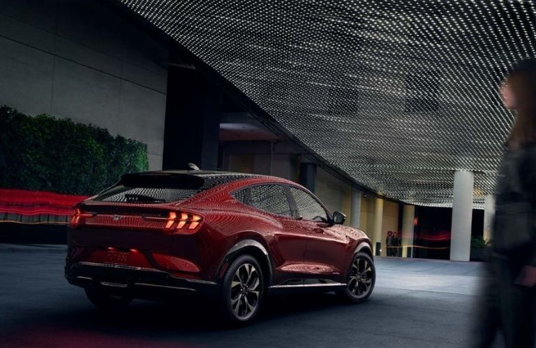 2021 Ford Mustang MACH-E rear view
