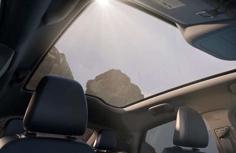 2021 Ford Mustang MACH-E sunroof view