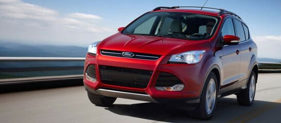 Advanced Safety Protection 2016 Ford Escape