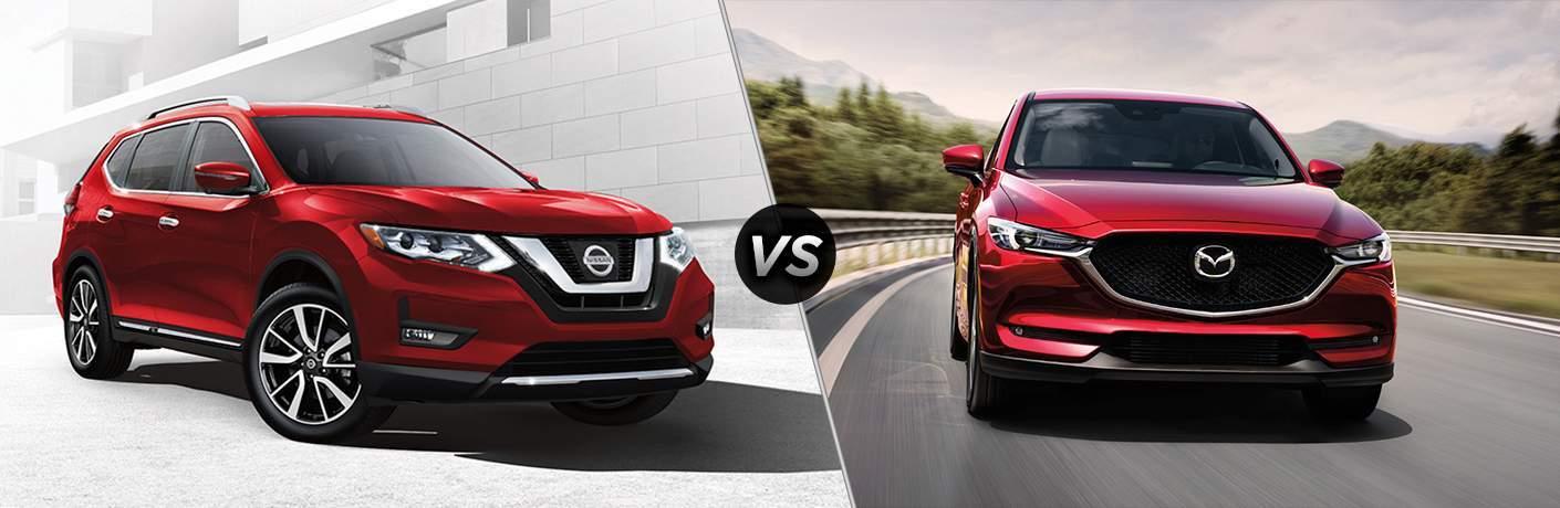 2017 Nissan Rogue vs 2017 Mazda CX-5