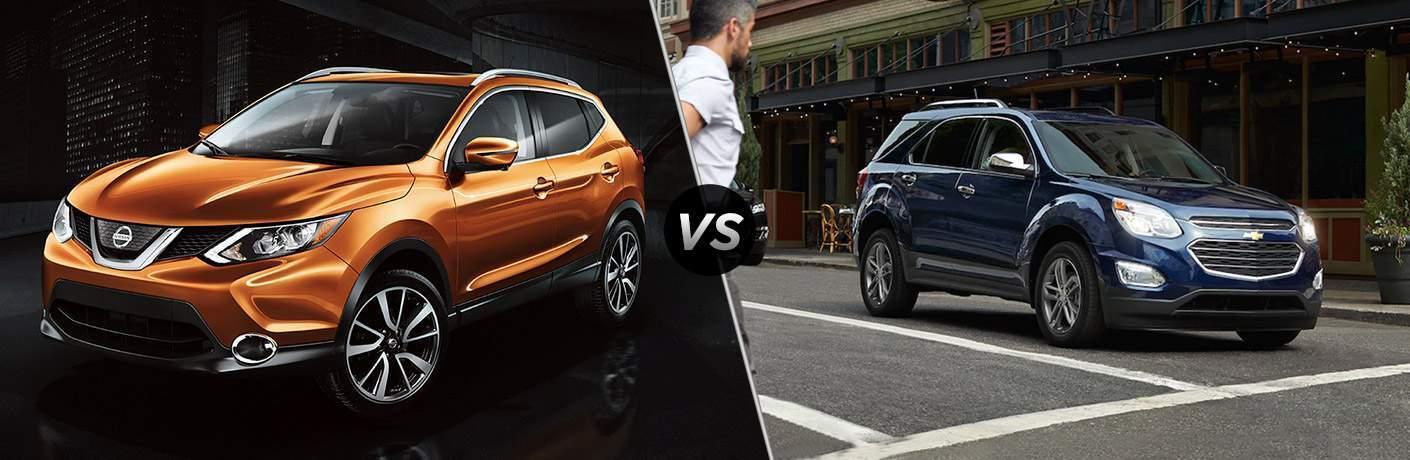 2017 Nissan Rogue vs 2017 Chevy Equinox