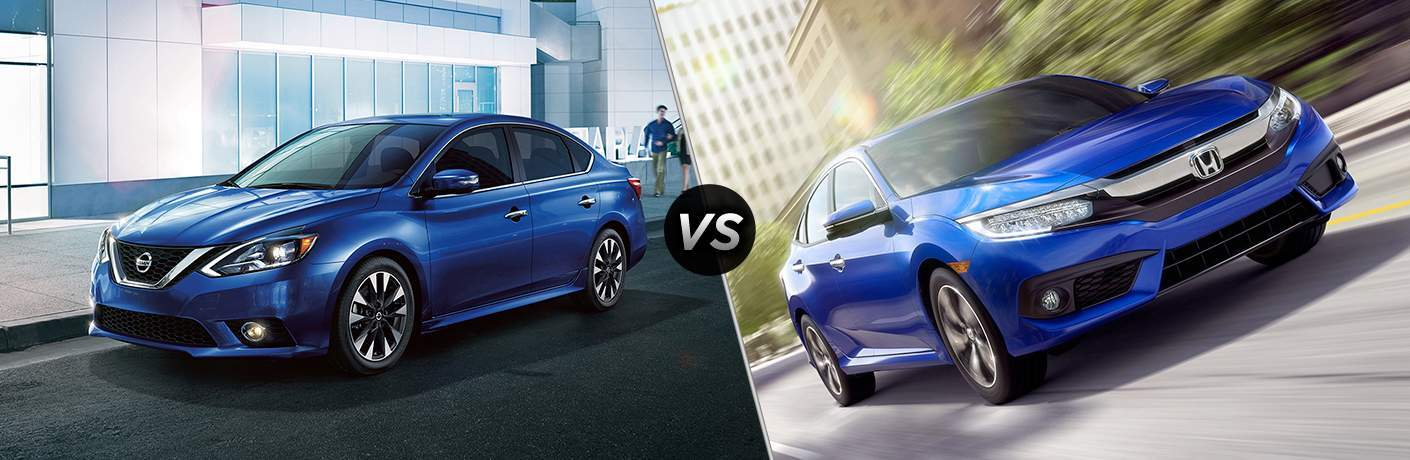 2017 Nissan Sentra vs 2017 Honda Civic