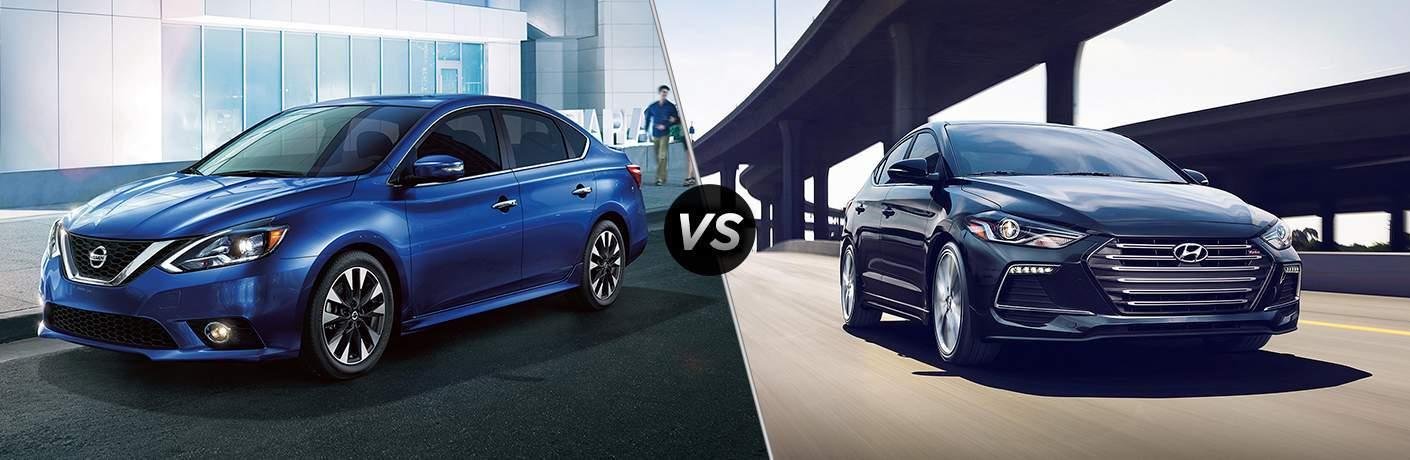 2017 Nissan Sentra vs 2017 Hyundai Elantra
