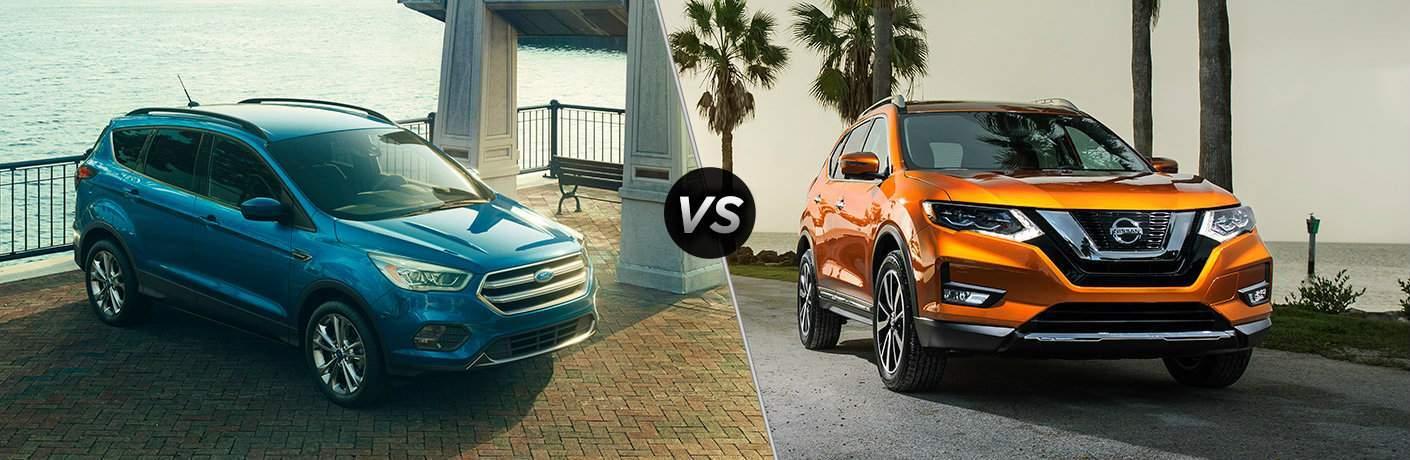 2017 Nissan Rogue vs 2017 Ford Escape