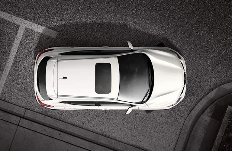 2018 Nissan Rogue Sport bird's eye view