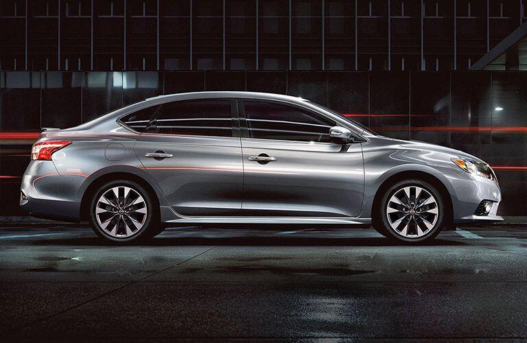 Nissan Sentra side profile