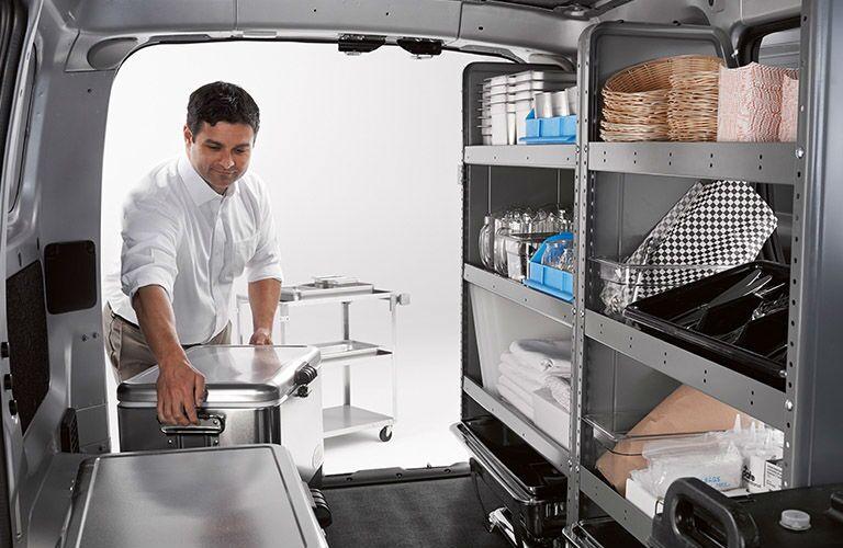 2018 Nissan NV200 Compact Cargo Van rear cargo area
