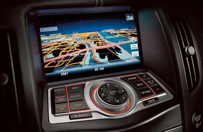 2019 Nissan 370Z Roadster navigation system