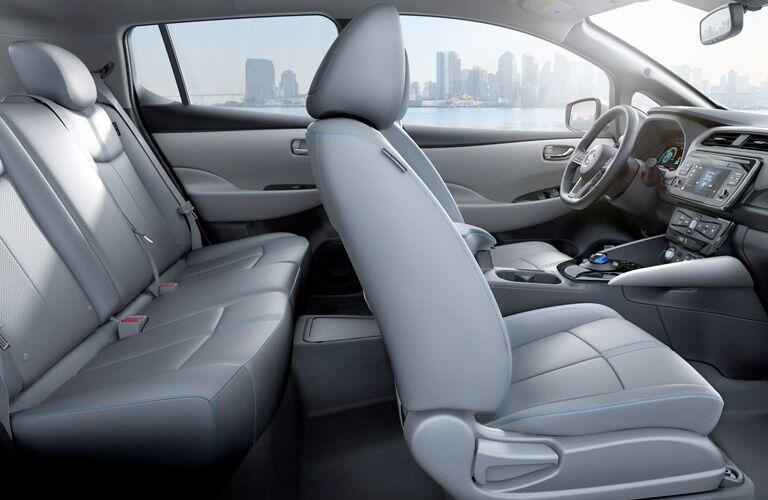 2019 Nissan LEAF passenger seats