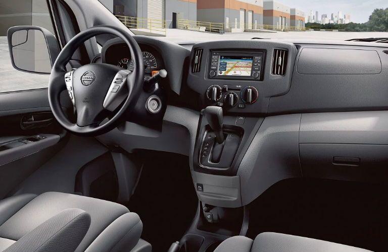 2019 Nissan NV200 Compact Cargo Van front dashboard