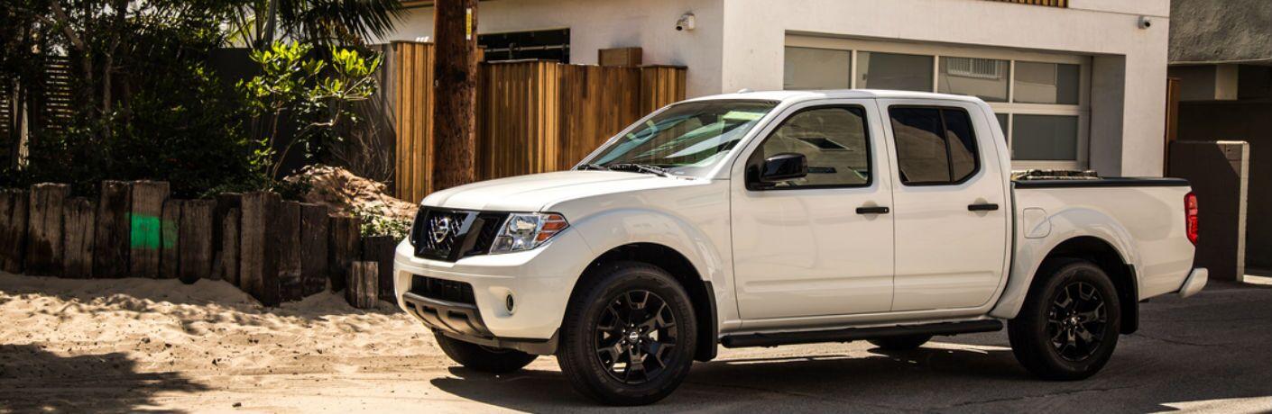 2019 Nissan Frontier side profile