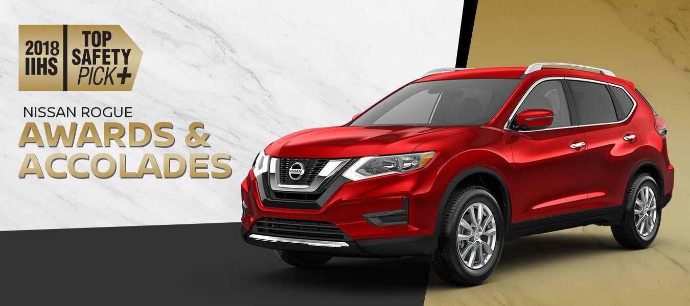 2018 Nissan Rogues IIHS winner