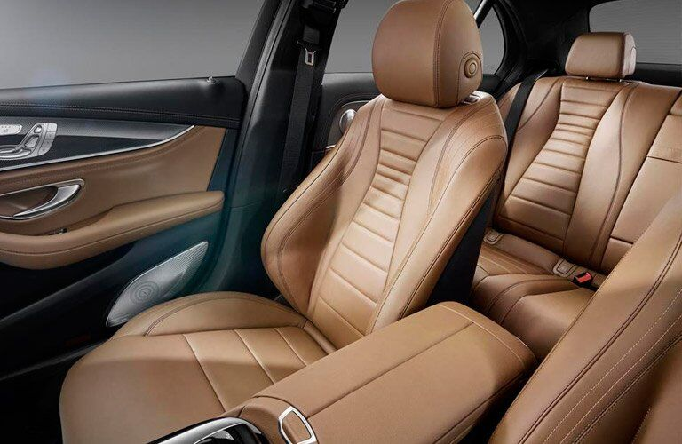 2017 Mercedes-Benz E-CLass seating