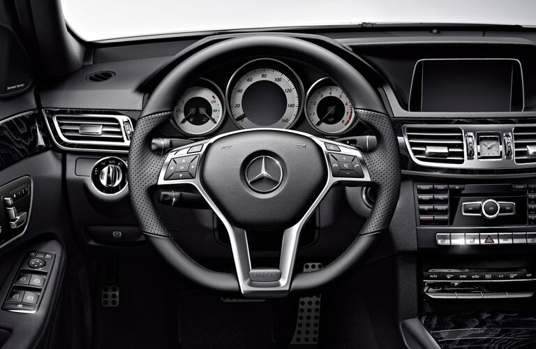 2017 Mercedes-Benz E-Class Wagon front interior
