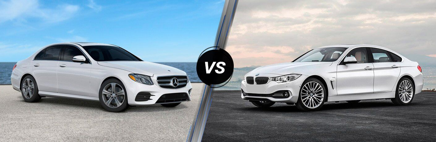 2017 Mercedes-Benz E-Class vs 2017 BMW 4 Series