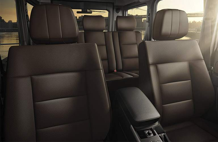 2017 Mercedes-Benz G-Class seating