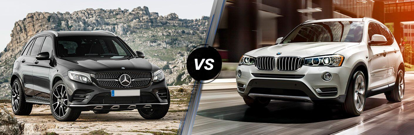 2017 Mercedes-Benz GLC vs 2017 BMW X3