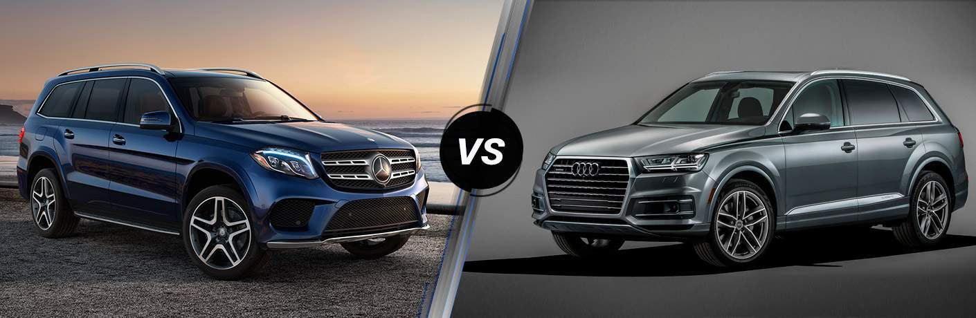 2017 Mercedes-Benz GLS 450 4MATIC vs 2017 Audi Q7