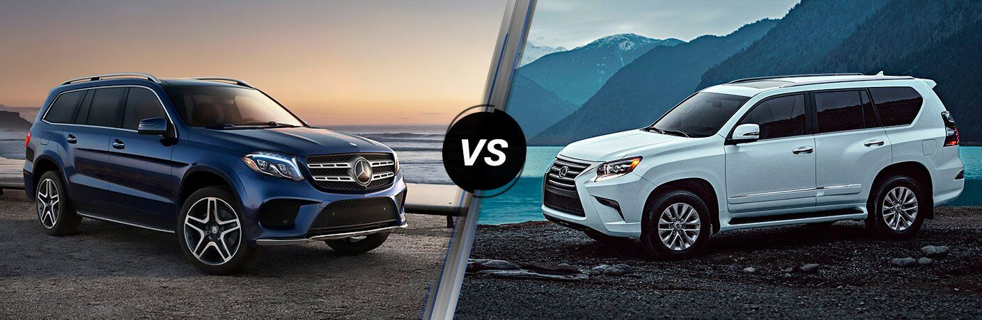 2017 Mercedes-Benz GLS vs 2017 Lexus GX