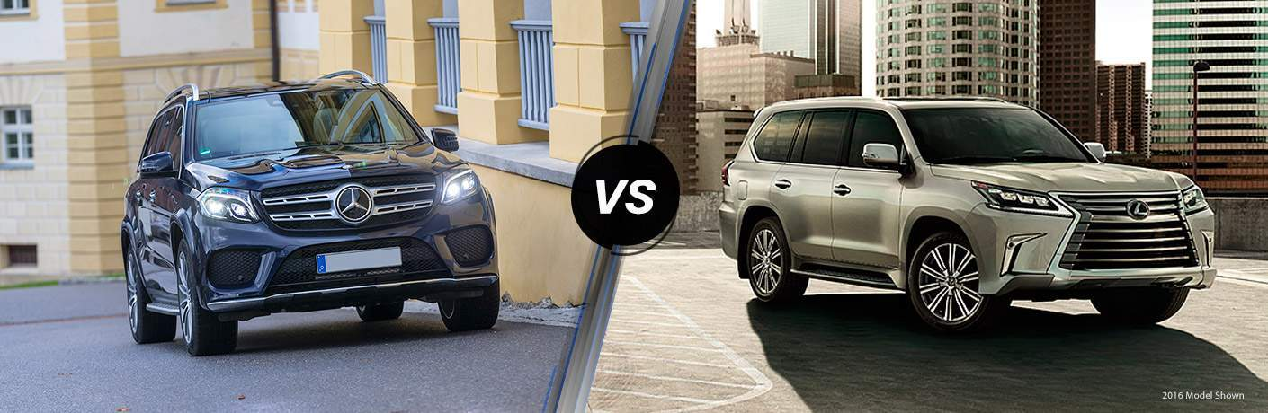 2018 Mercedes-Benz GLS 450 4MATIC® vs 2018 Lexus LX