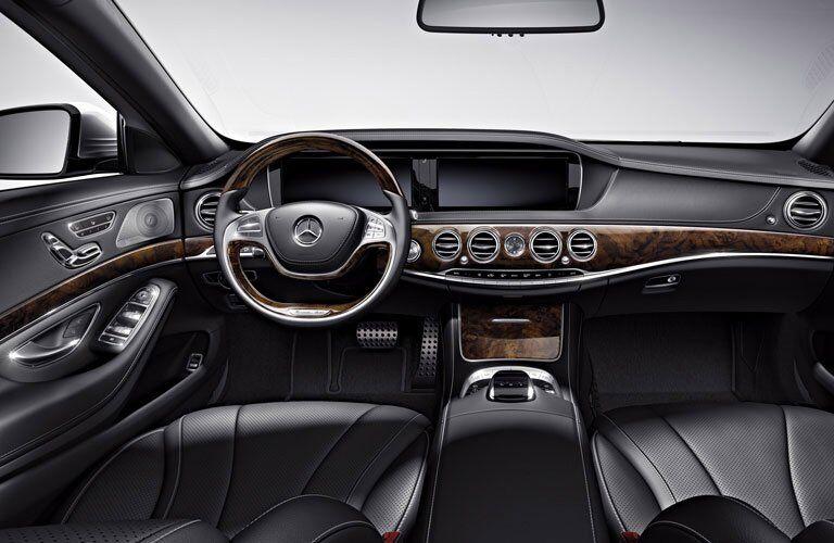 2017 Mercedes-Benz S-Class Sedan Interior Cabin Dashboard