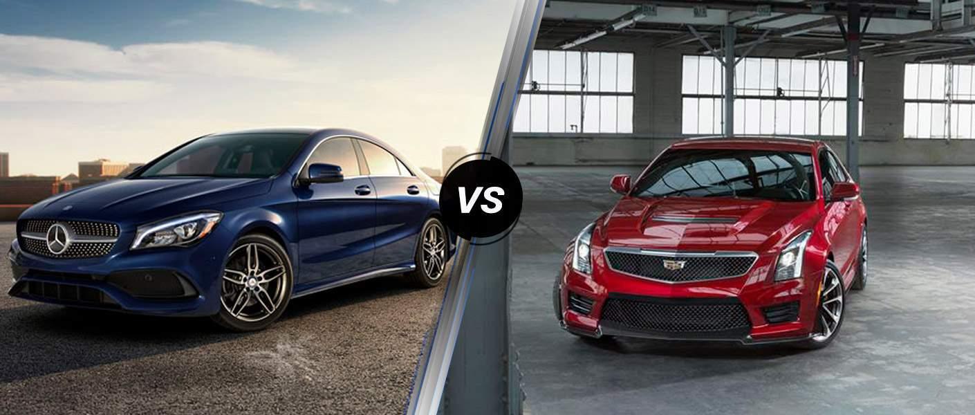 2018 Mercedes-Benz CLA vs 2018 Cadillac ATS Coupe