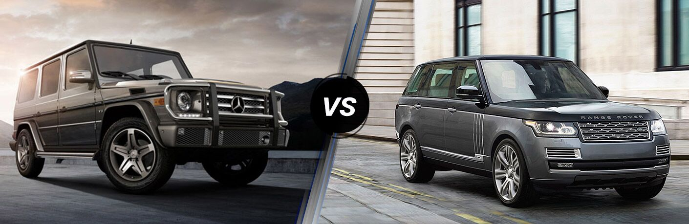 2018 Mercedes-Benz G 550 vs 2018 Land Rover Range Rover