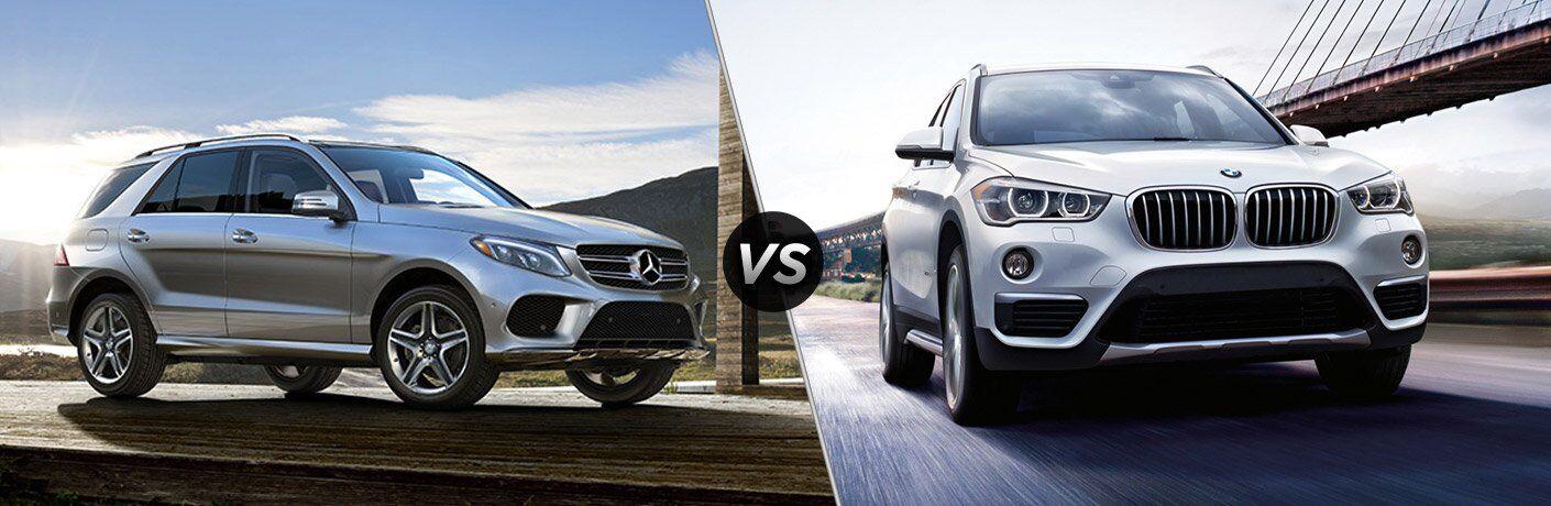 2017 Mercedes-Benz GLE350 vs BMW X5