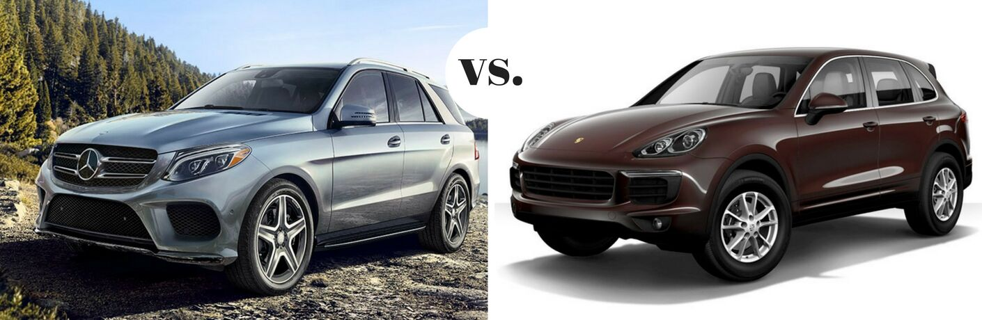 2017 Mercedes-Benz GLE vs 2017 Porsche Cayenne
