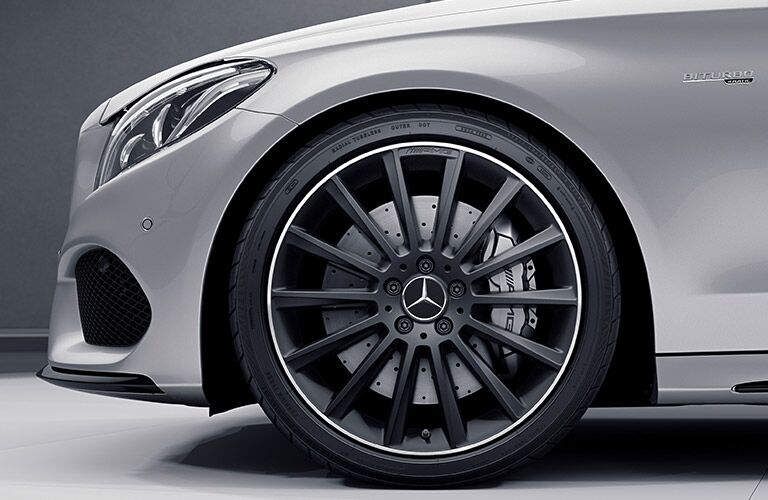 2018 Mercedes-Benz AMG C 63 S Sedan front wheel