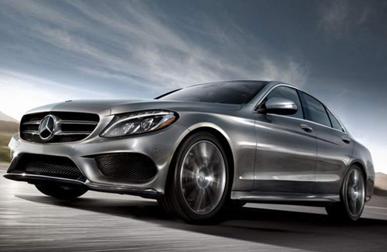 2018 Mercedes-Benz C 300 4MATIC on the road