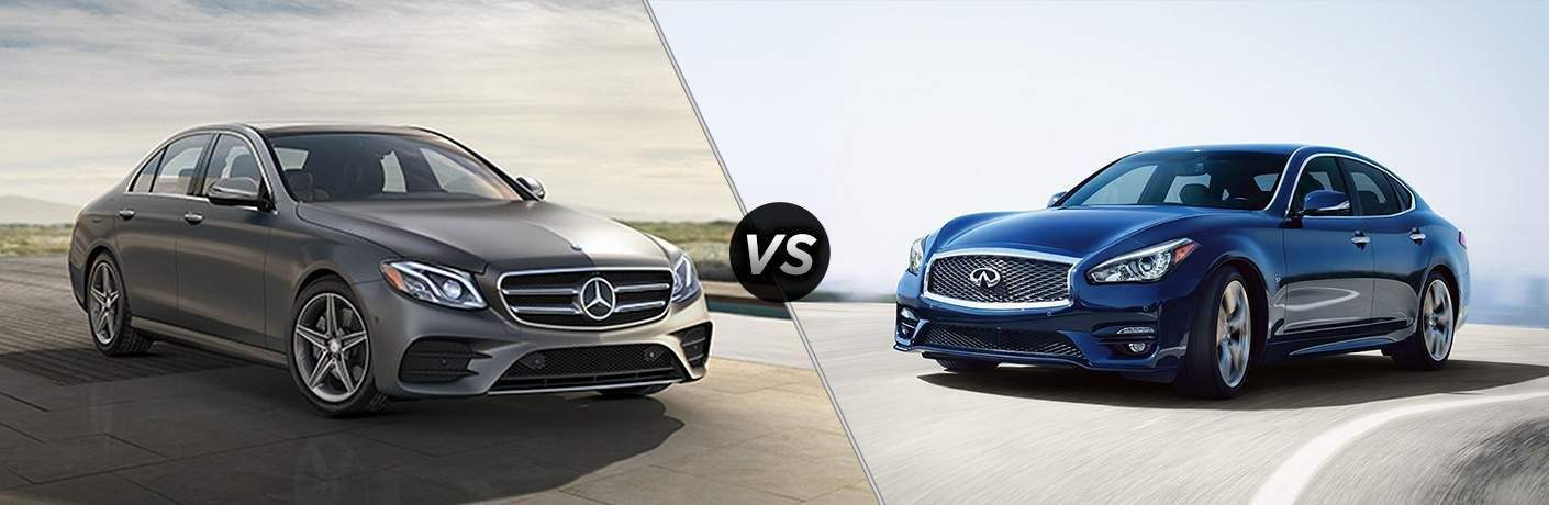 2018 Mercedes-Benz E 300 vs 2018 INFINITI Q70L