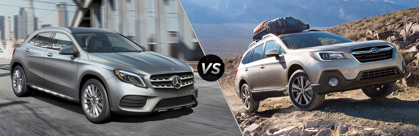 2019 Mercedes-Benz GLA 250 vs 2019 Subaru Outback