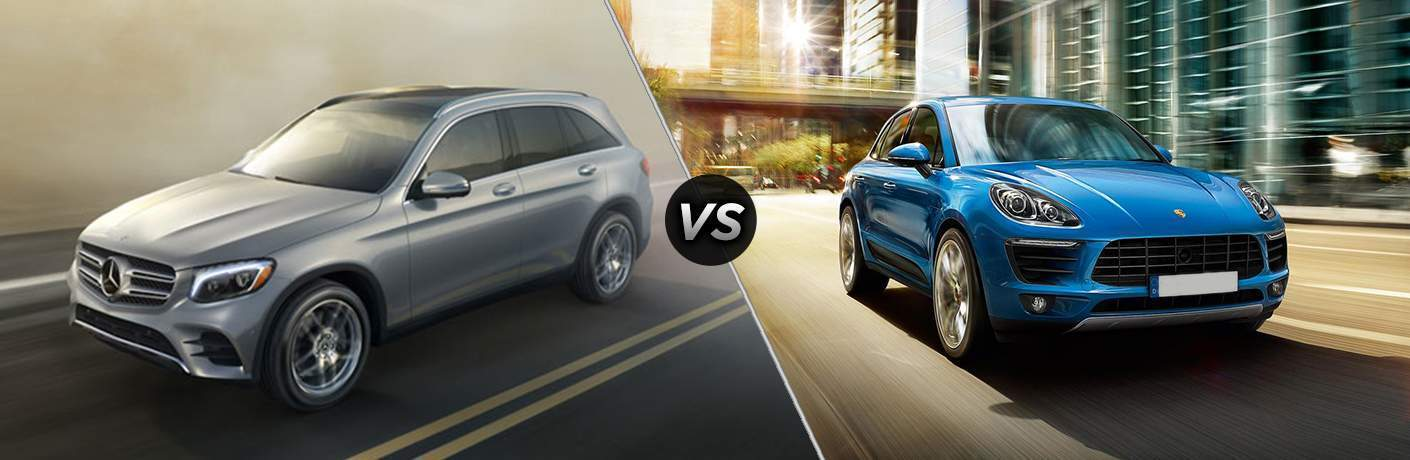 2019 Mercedes-Benz GLC 300 vs 2019 Porsche Macan