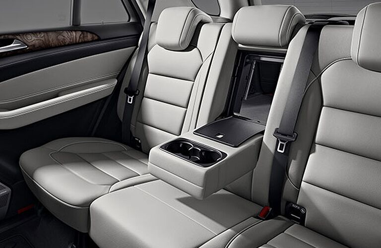 2018 Mercedes-Benz AMG GLE 43 4MATIC® Coupe rear interior