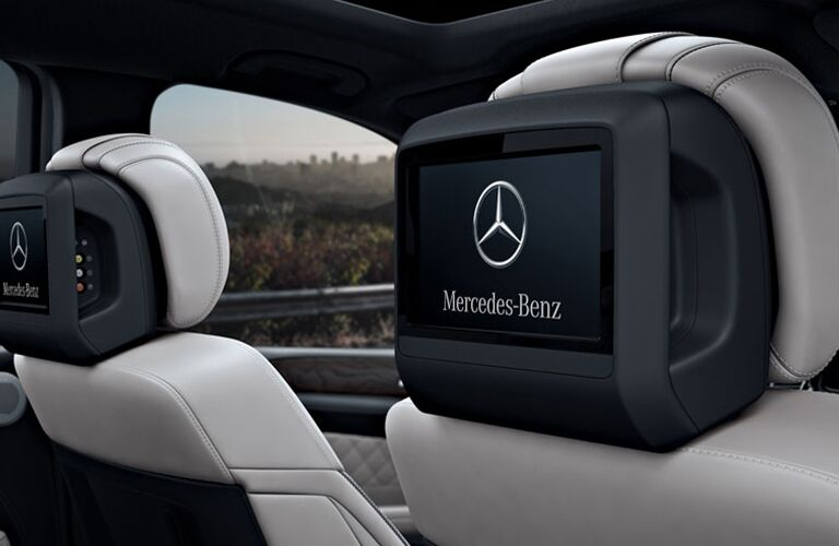 2019 Mercedes-Benz GLS rear-seat entertainment system
