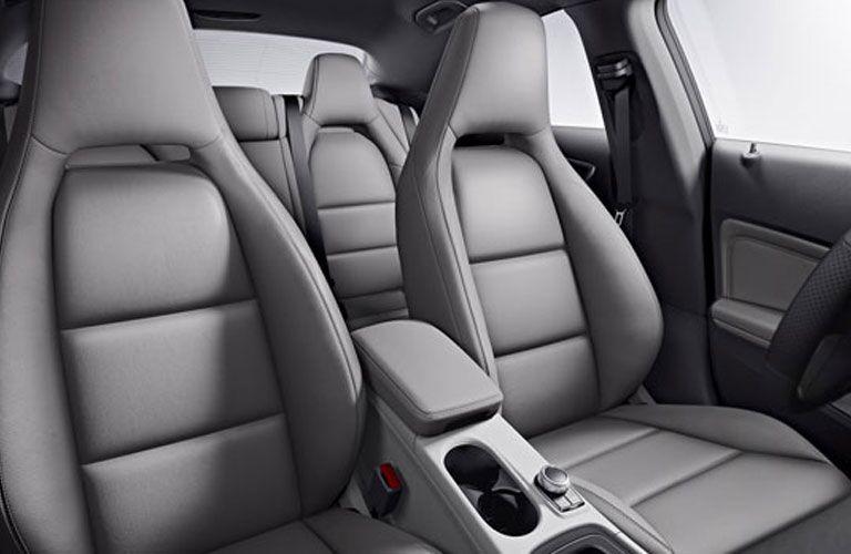 2018 Mercedes-Benz CLA 250 interior seating