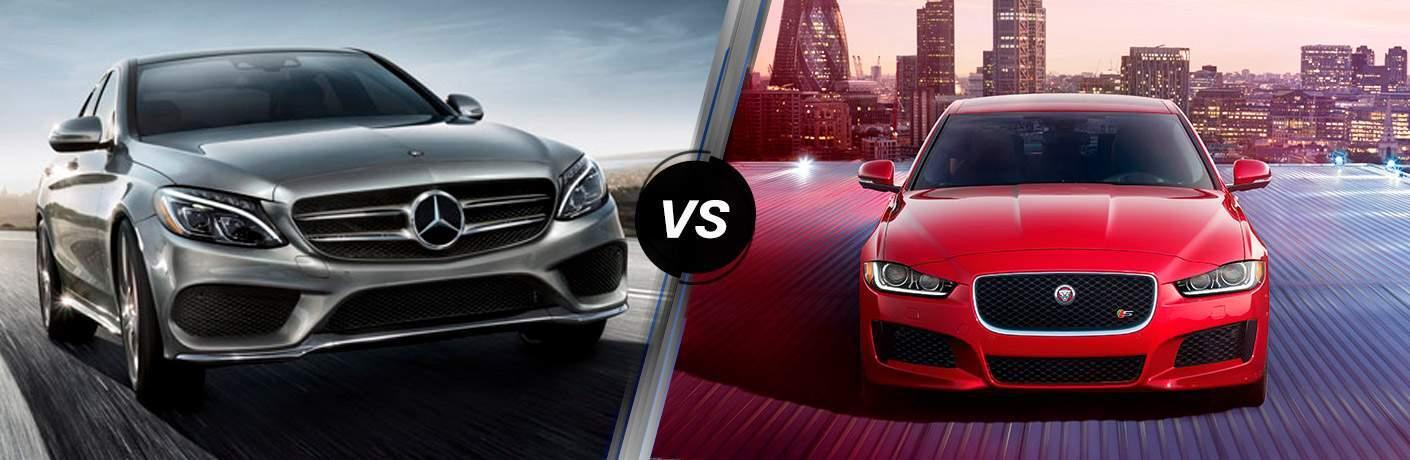 2018 Mercedes-Benz C 300 4MATIC vs 2018 Jaguar XE