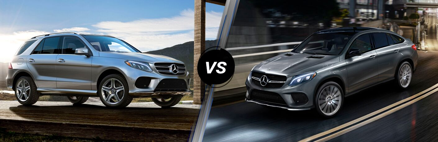 2018 Mercedes-Benz GLE 350 vs 2018 Mercedes-Benz AMG GLE 43 4MATIC® Coupe