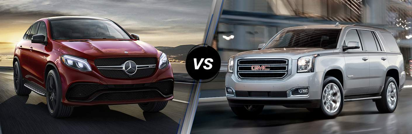 2018 Mercedes-Benz GLE 350 vs 2018 GMC Yukon Denali