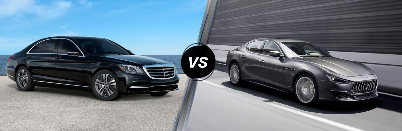 2019 Mercedes-Benz S 450 4MATIC® vs 2019 Maserati Ghibli